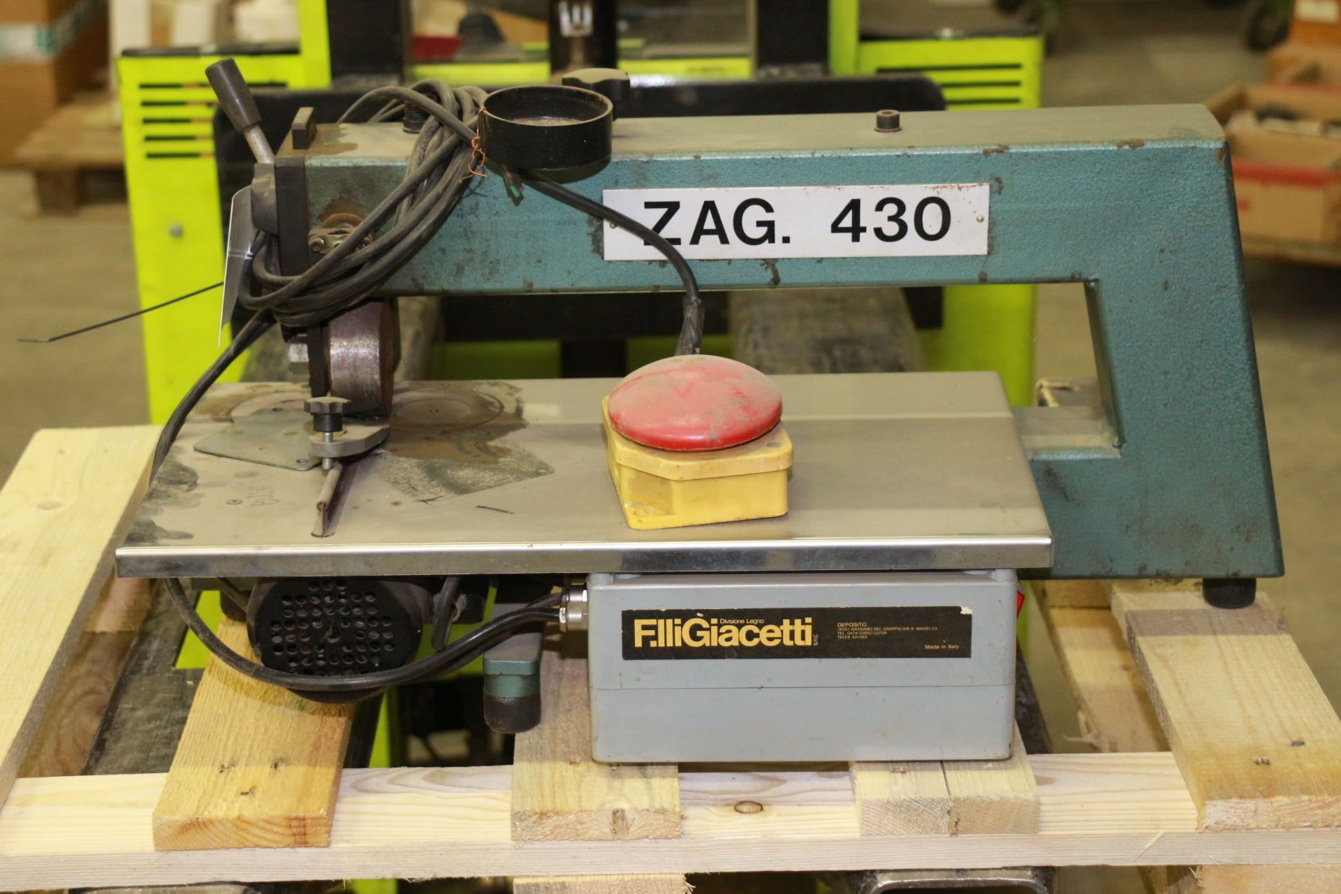 OMEZ ZAG430 Furnierzusammensetzmaschine