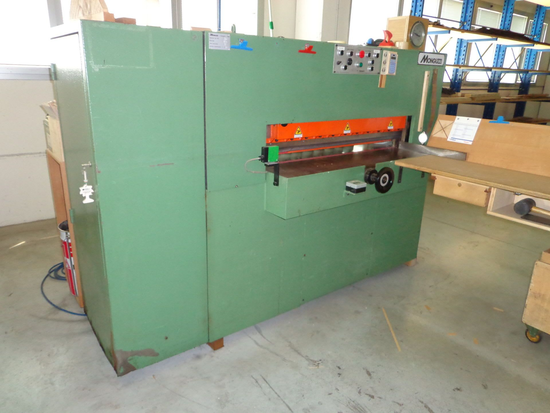 MONGUZZI TRA1200 Furnierschneidemaschine