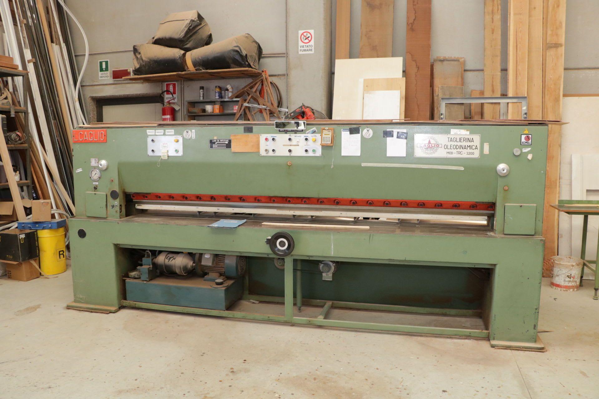 CAGLIO TRC-3200 Furnierschneidemaschine