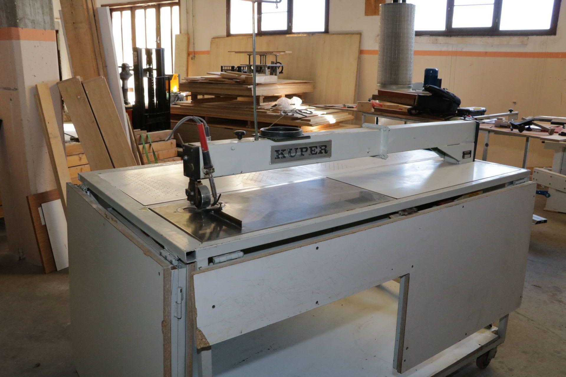 KUPER FWM 630 Furnierschneidemaschine