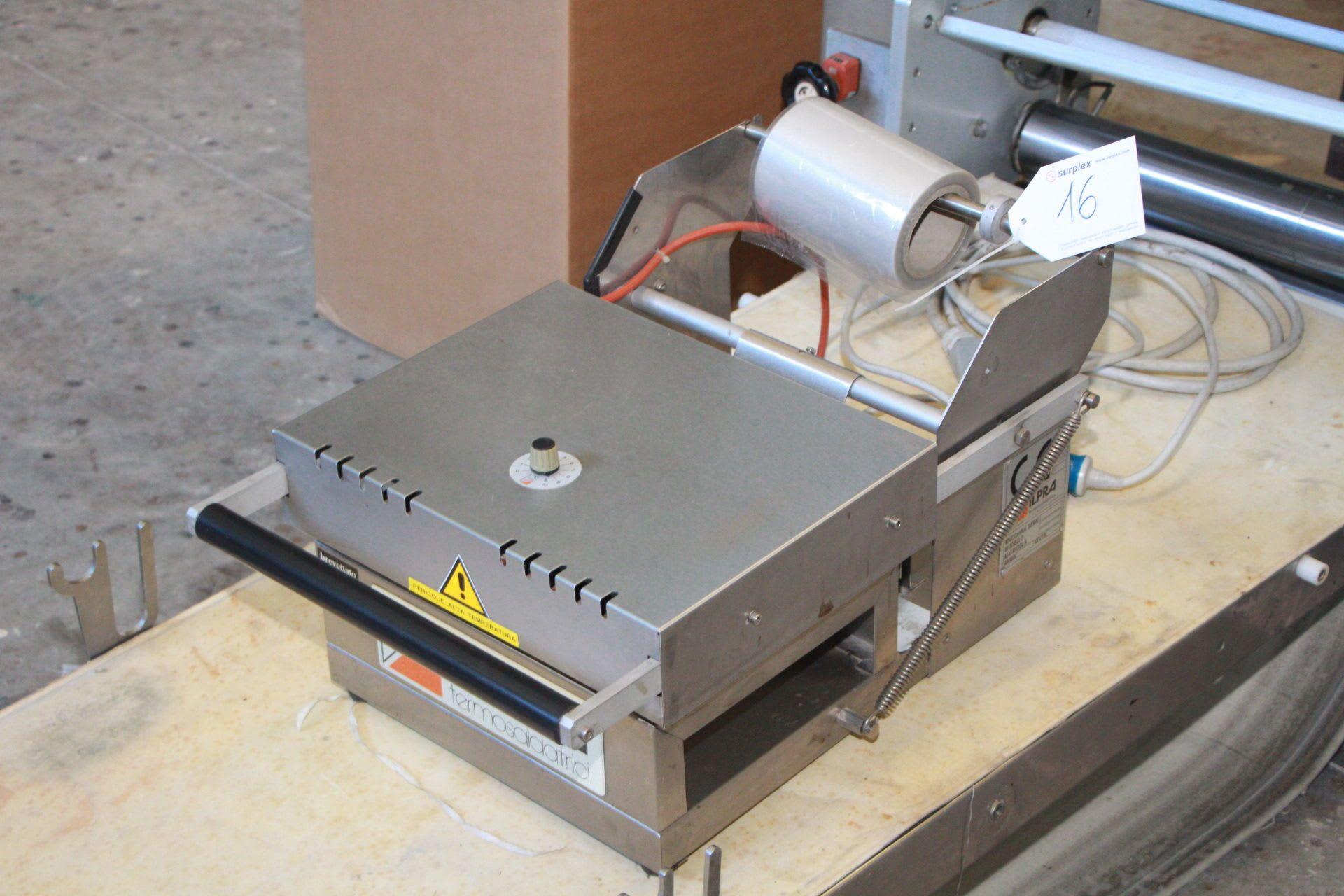 ILPRA FOOD PACK Schalenverschließmaschine