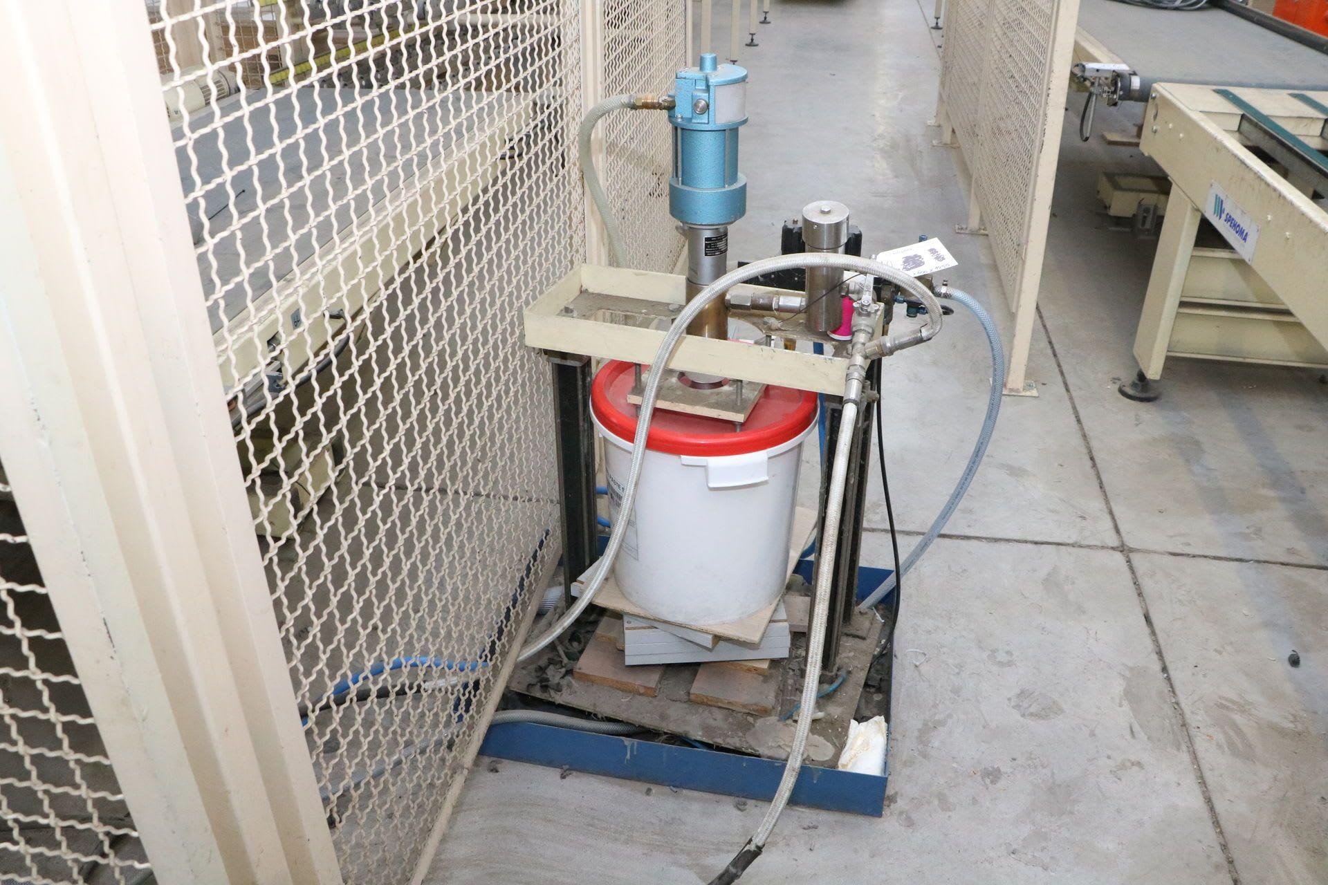 WIWA DA 10 Nutenbeleimmaschine