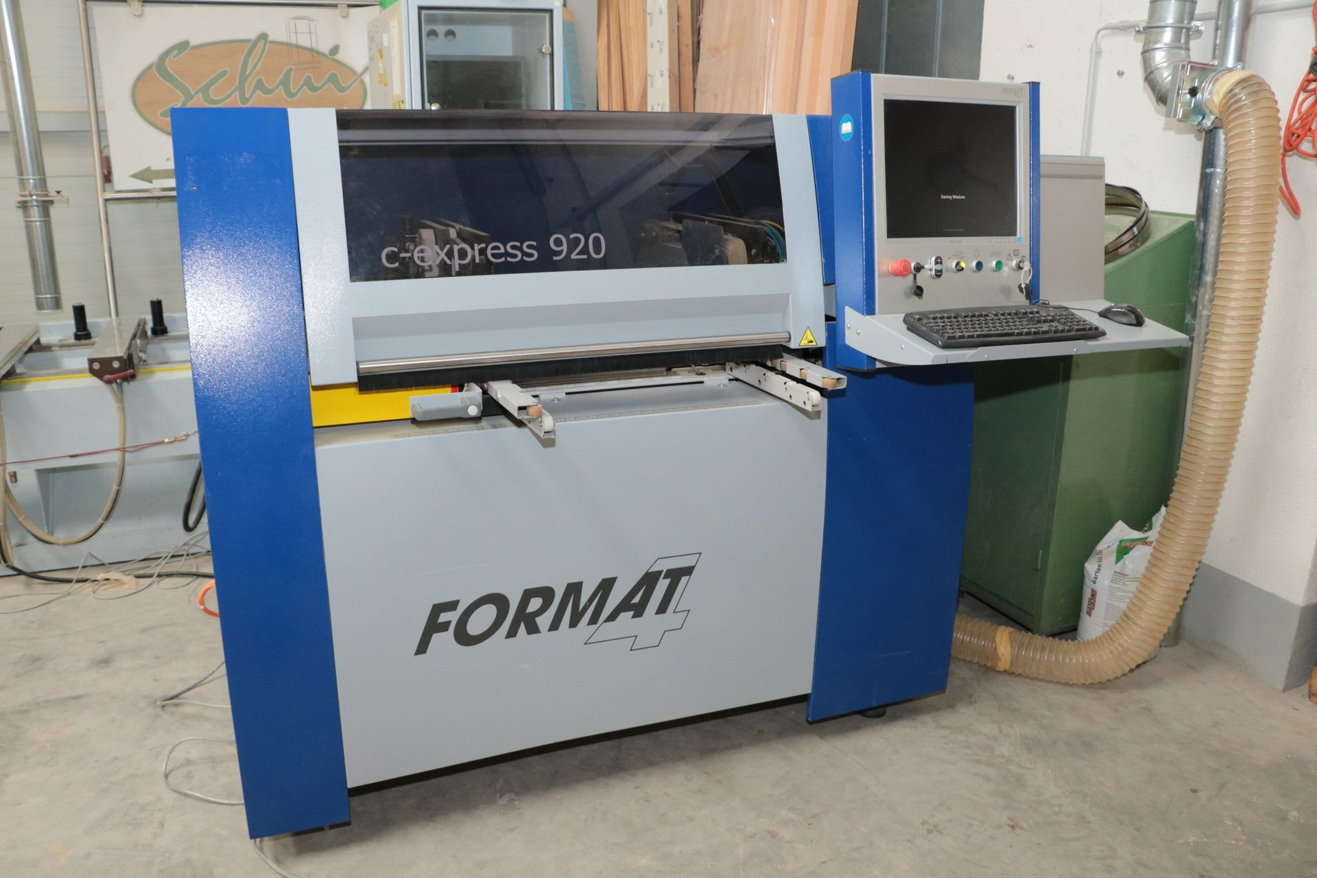 FORMAT 4 c-express 920 CNC-Bearbeitungszentrum
