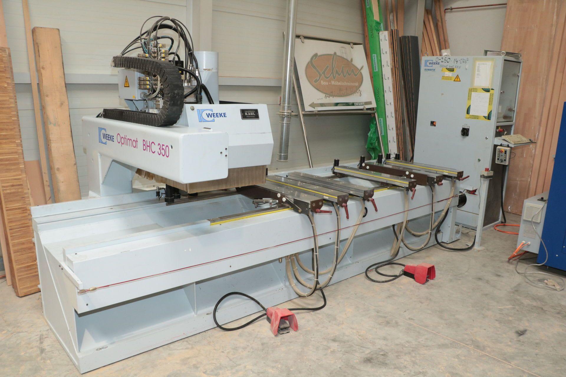 WEEKE Optimat BHC 350 CNC-Bearbeitungszentrum