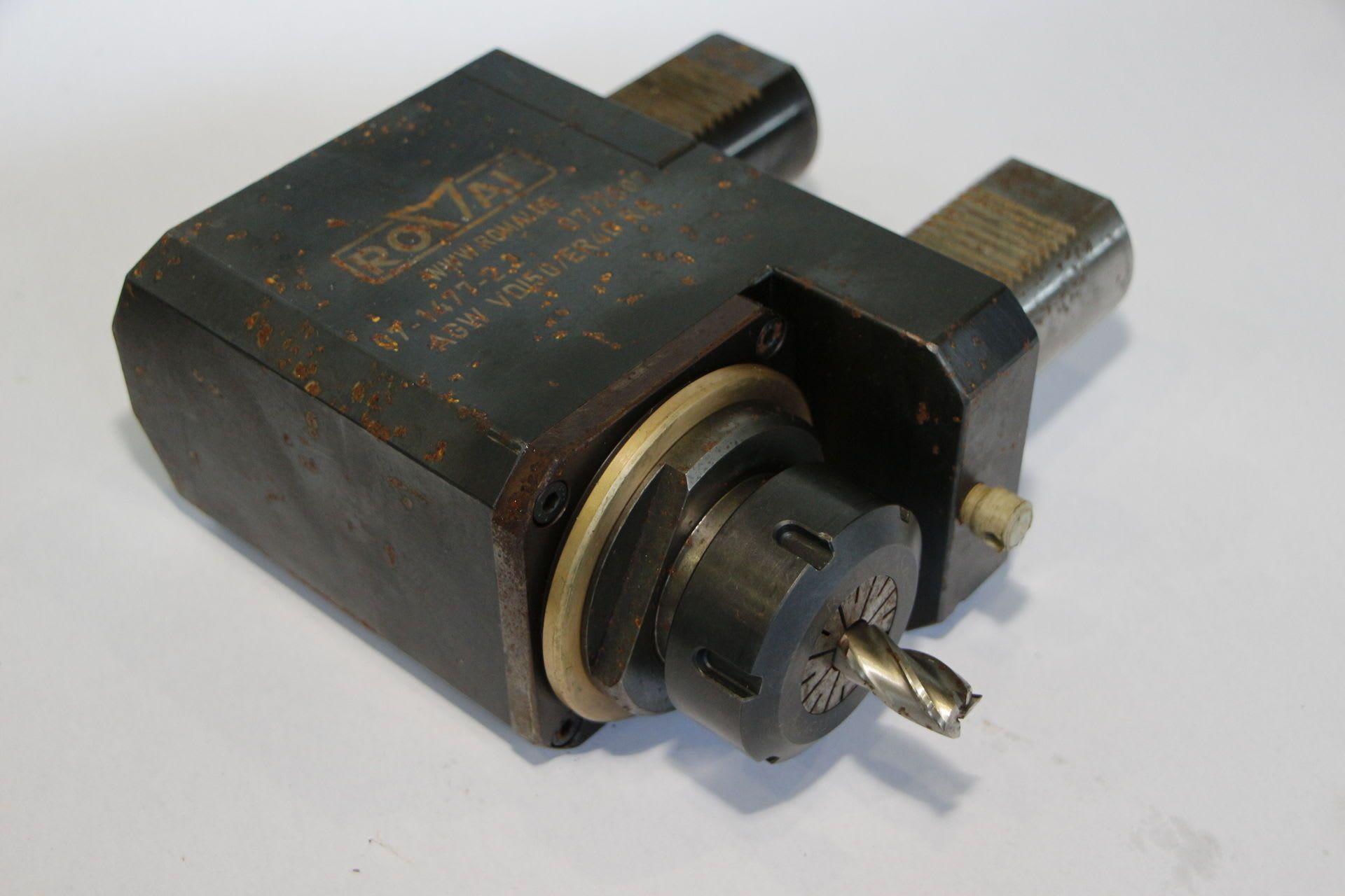 ROMAI AGW VDI 50 / ER 40 RA Angetriebenes Werkzeug