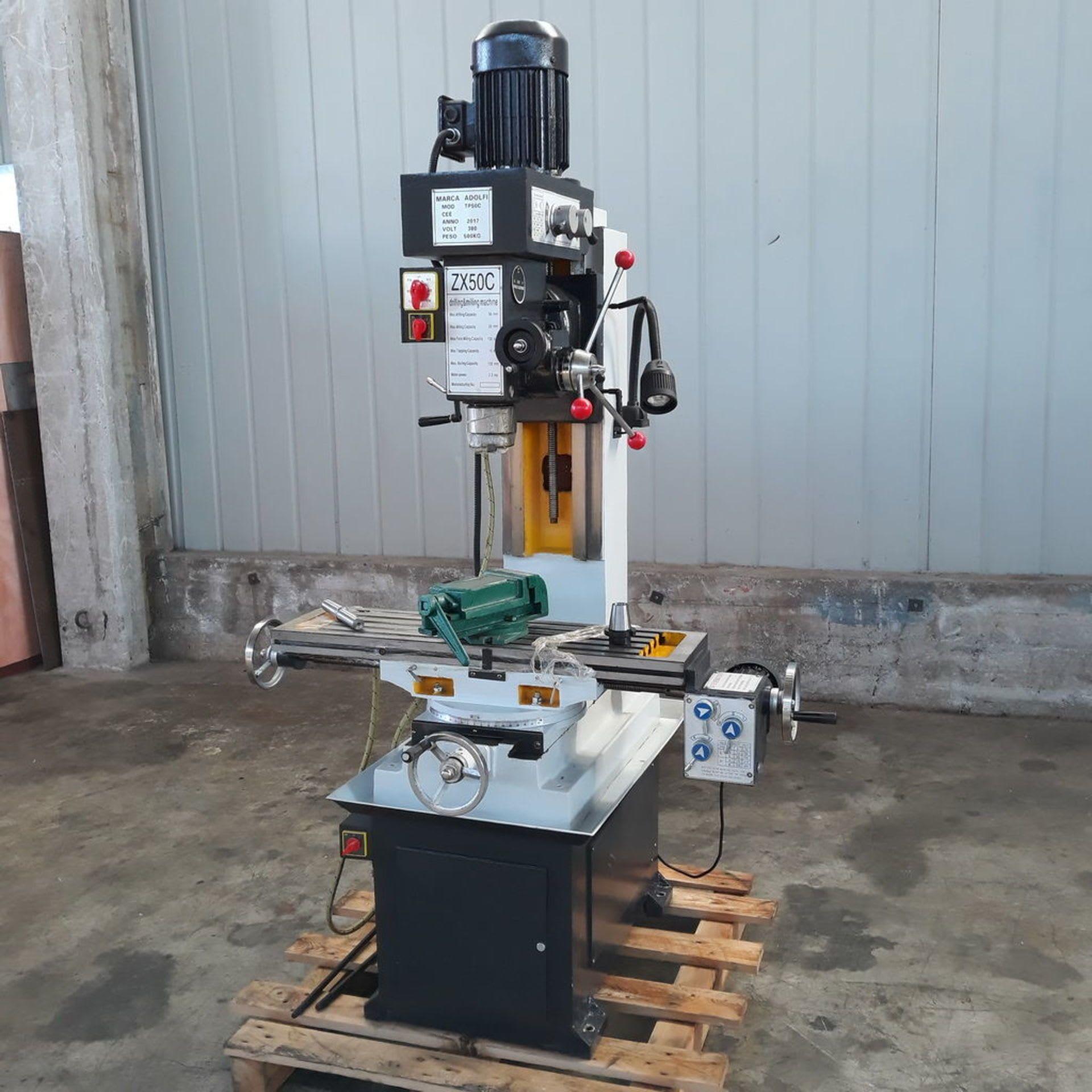 ADOLFI TP50C Automatik-Bohr- und Fräsmaschine