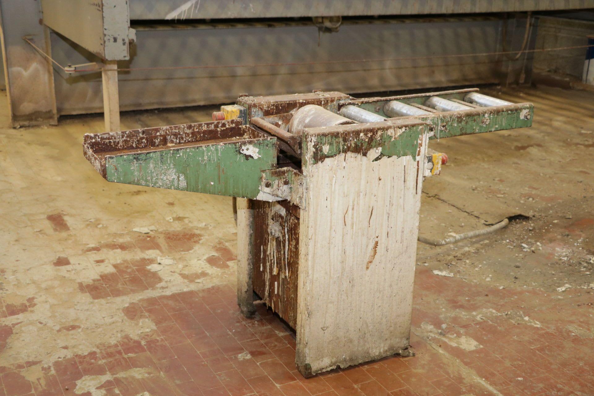 Leimauftragsmaschine für Tischplatten