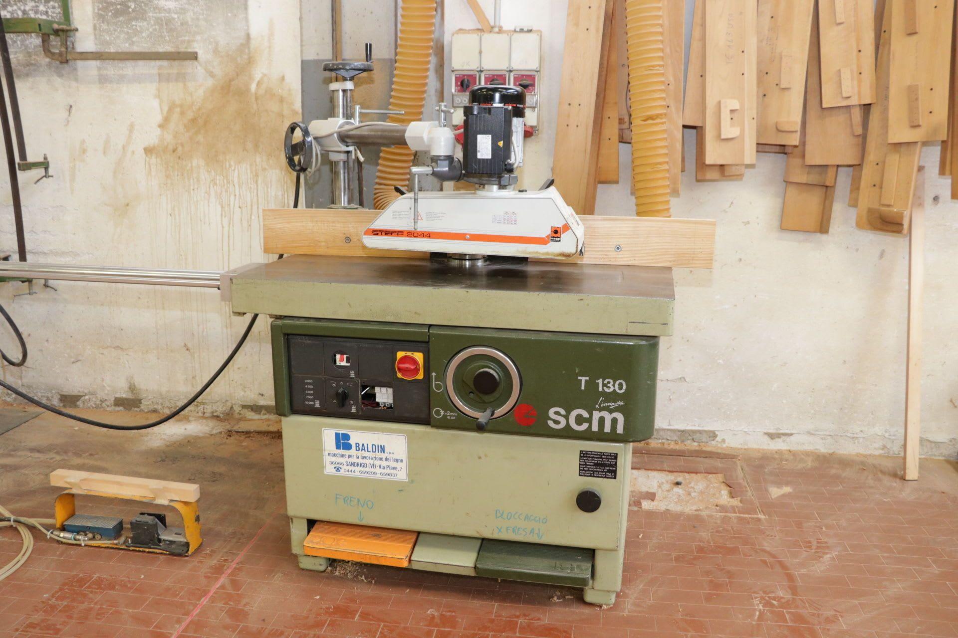 SCM T130N Kehlmaschine