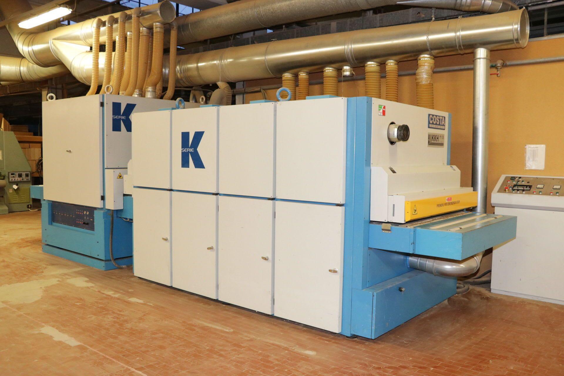COSTA KKH CCCC CCCC 1350 Obere / Unterseitige Kalibrierlinie