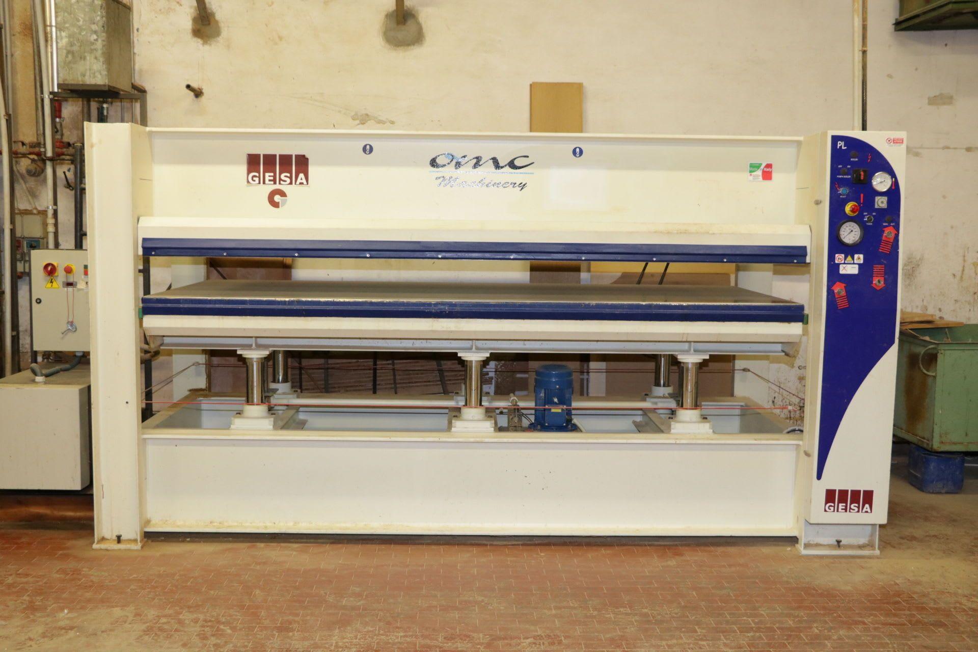 OMC PL120 Heißpresse