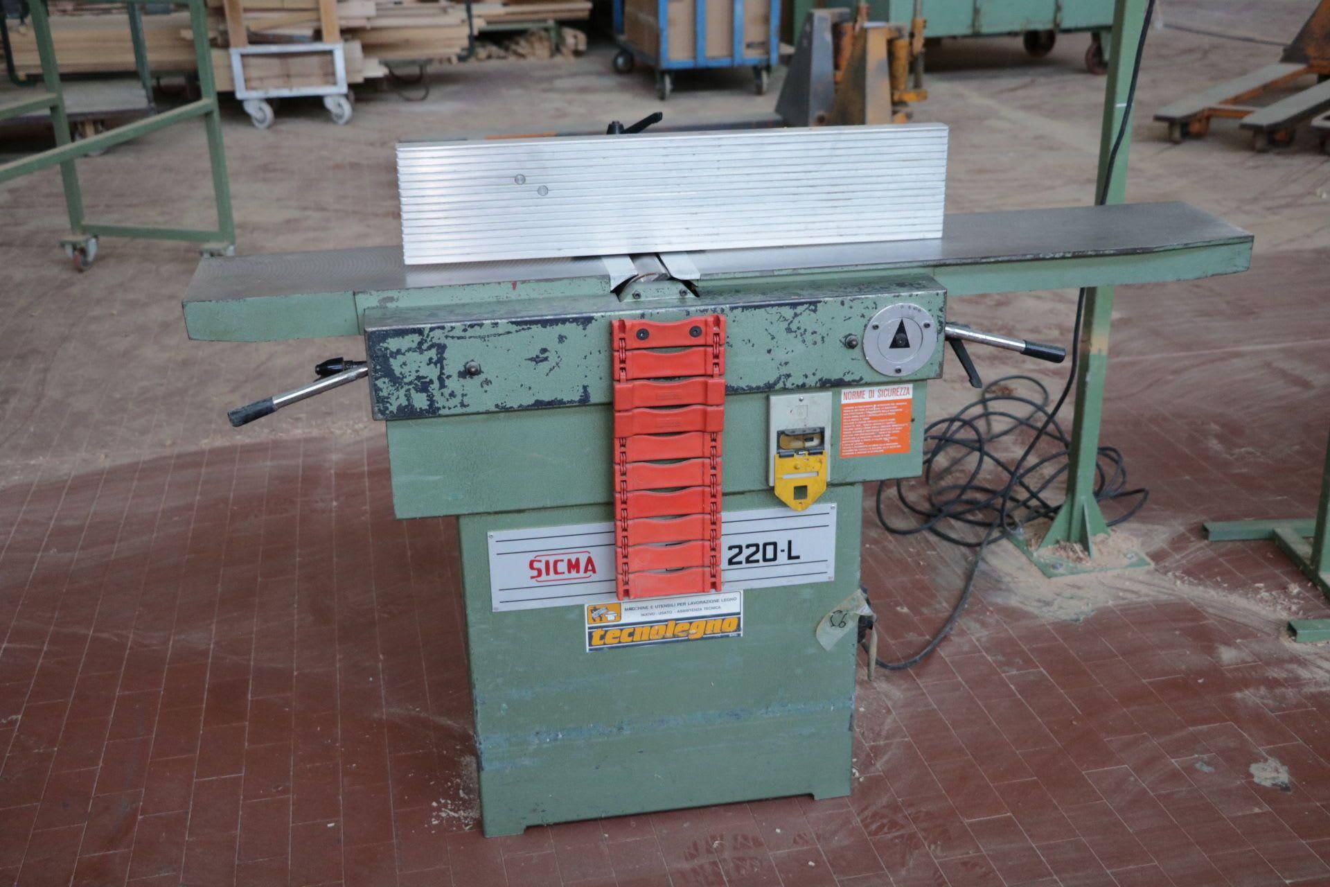 SICMA DT 220 / L Abrichthobelmaschine