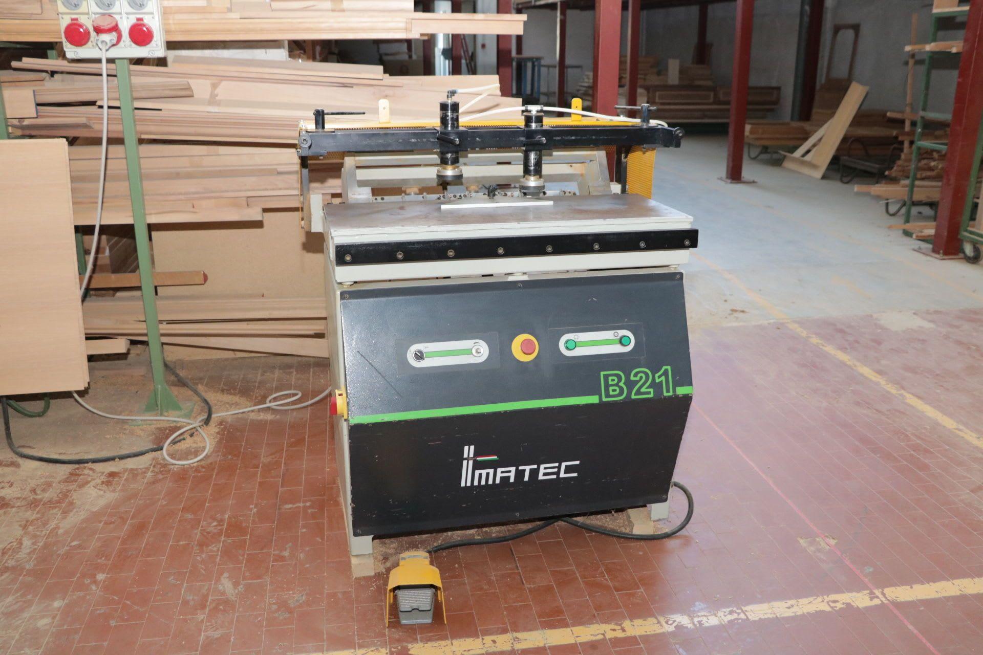 IMATEC B21 Mehrfachbohrmaschine