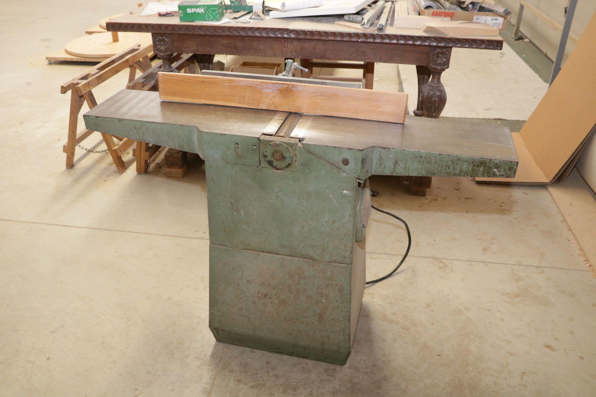GMC 250 Abrichthobelmaschine