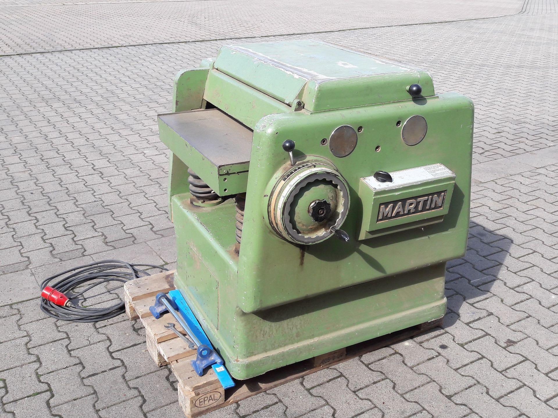 MARTIN T 41 Dickenhobelmaschine