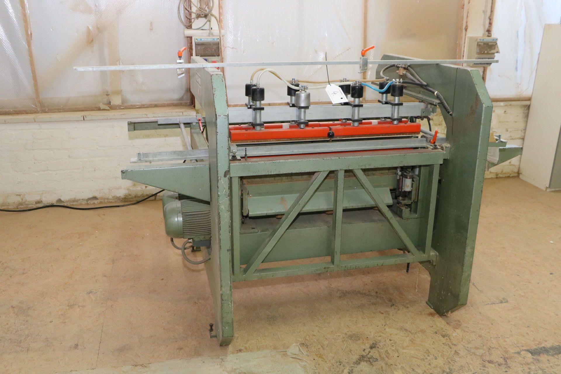 GANNOMAT Reihenloch-Bohrmaschine