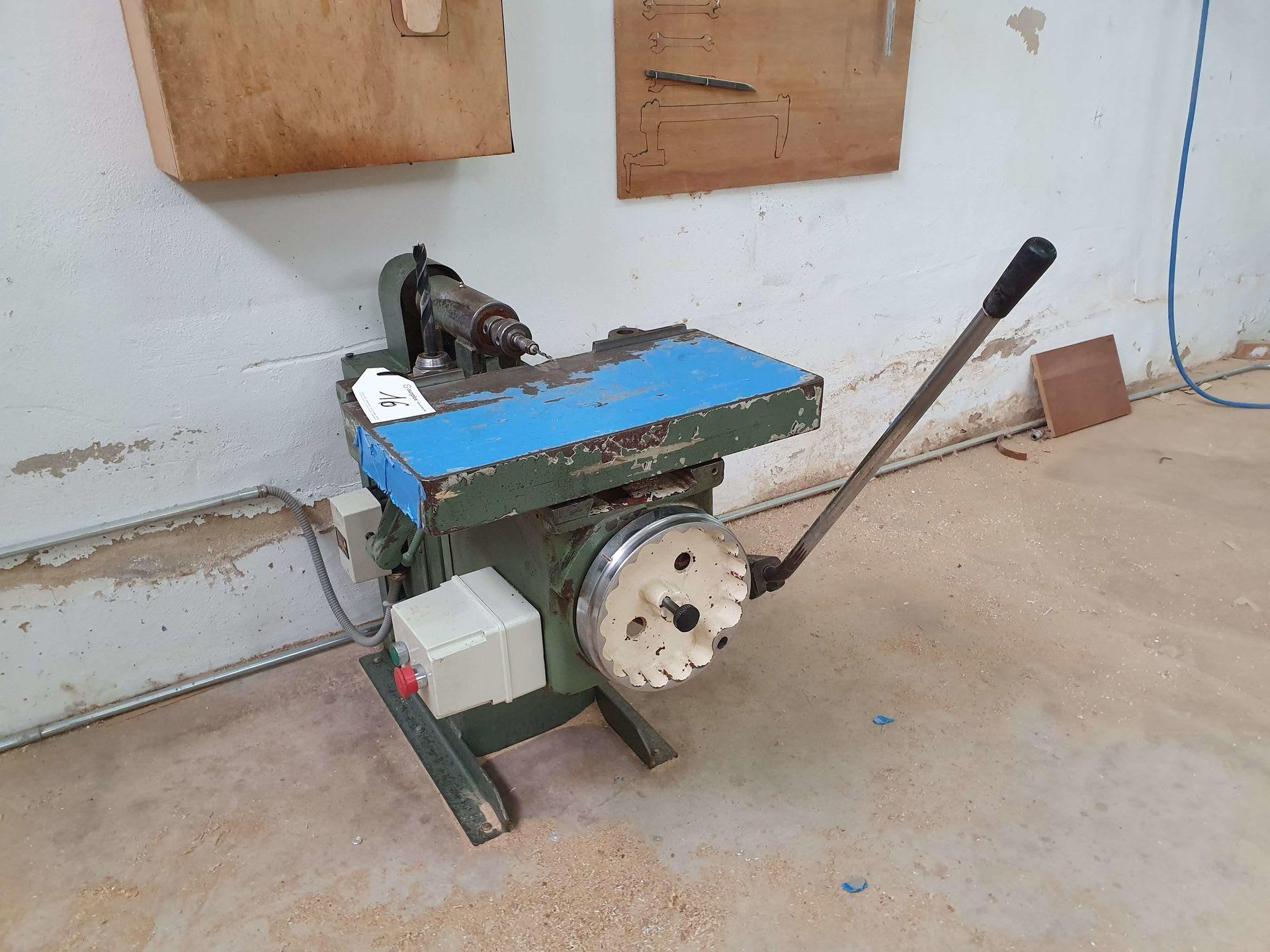 Horizontale Bohrmaschine