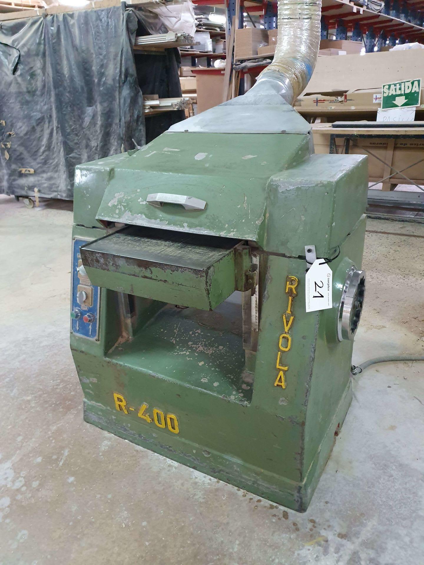 RIVOLA R-400 Dickenhobelmaschine