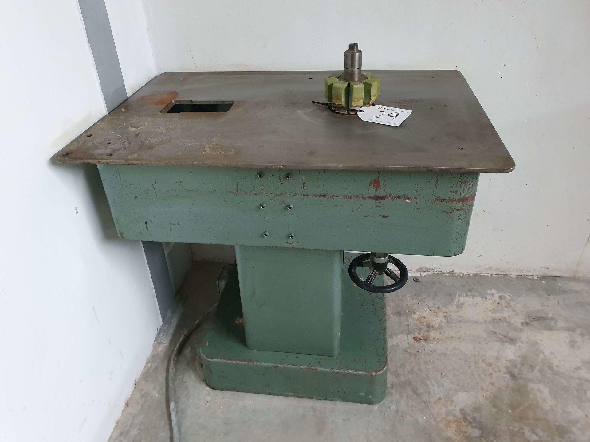JURAVI Spindelschleifmaschine für Rundteile
