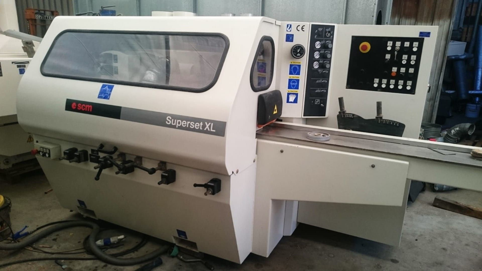 SCM SUPERSET XL Profilschleifmaschine