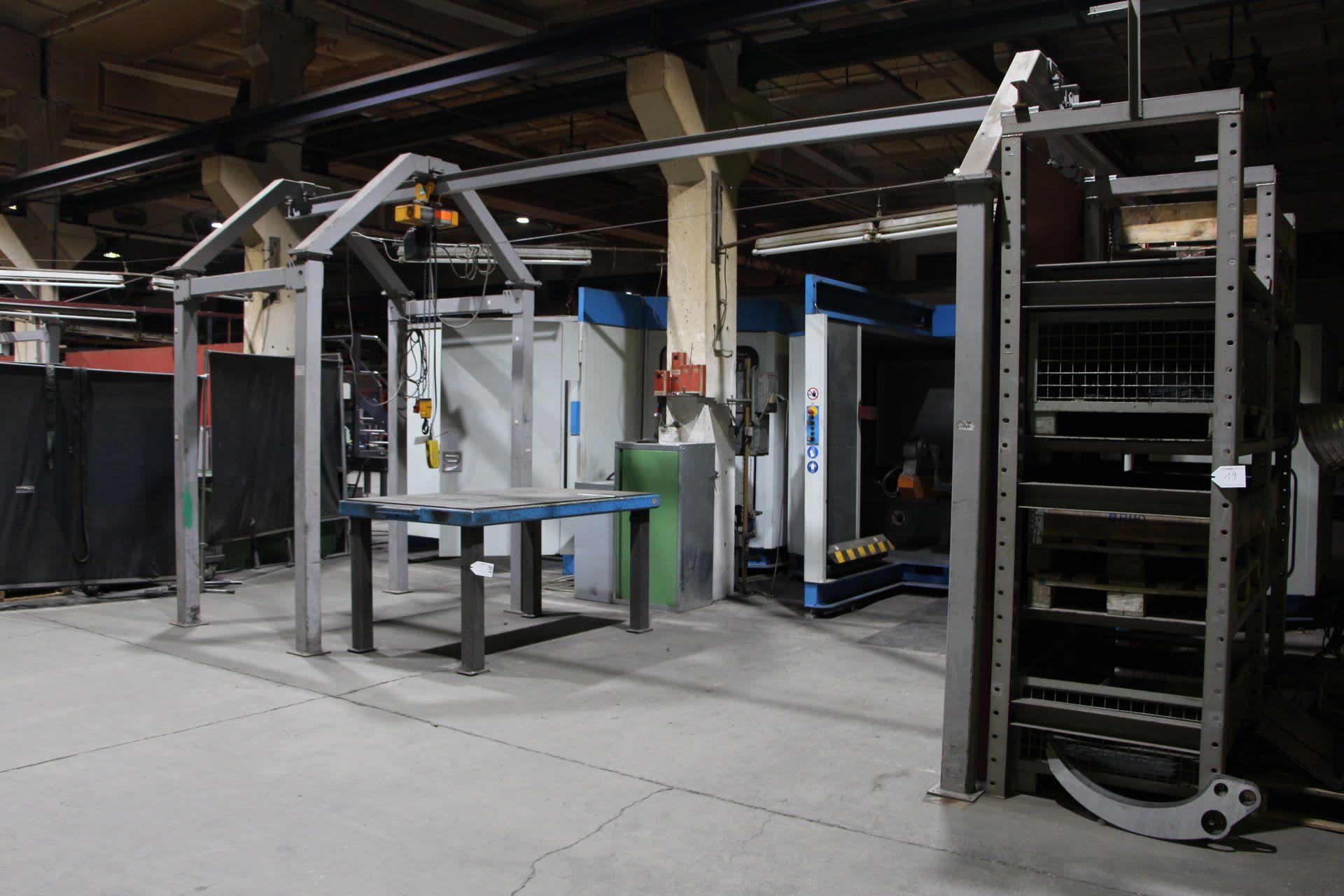 HOFFMANN Elektrozuganlage mit Kettenzug