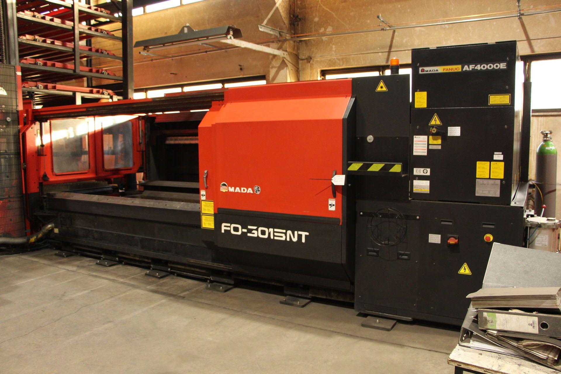 AMADA S 03015.NT Laserschneidanlage