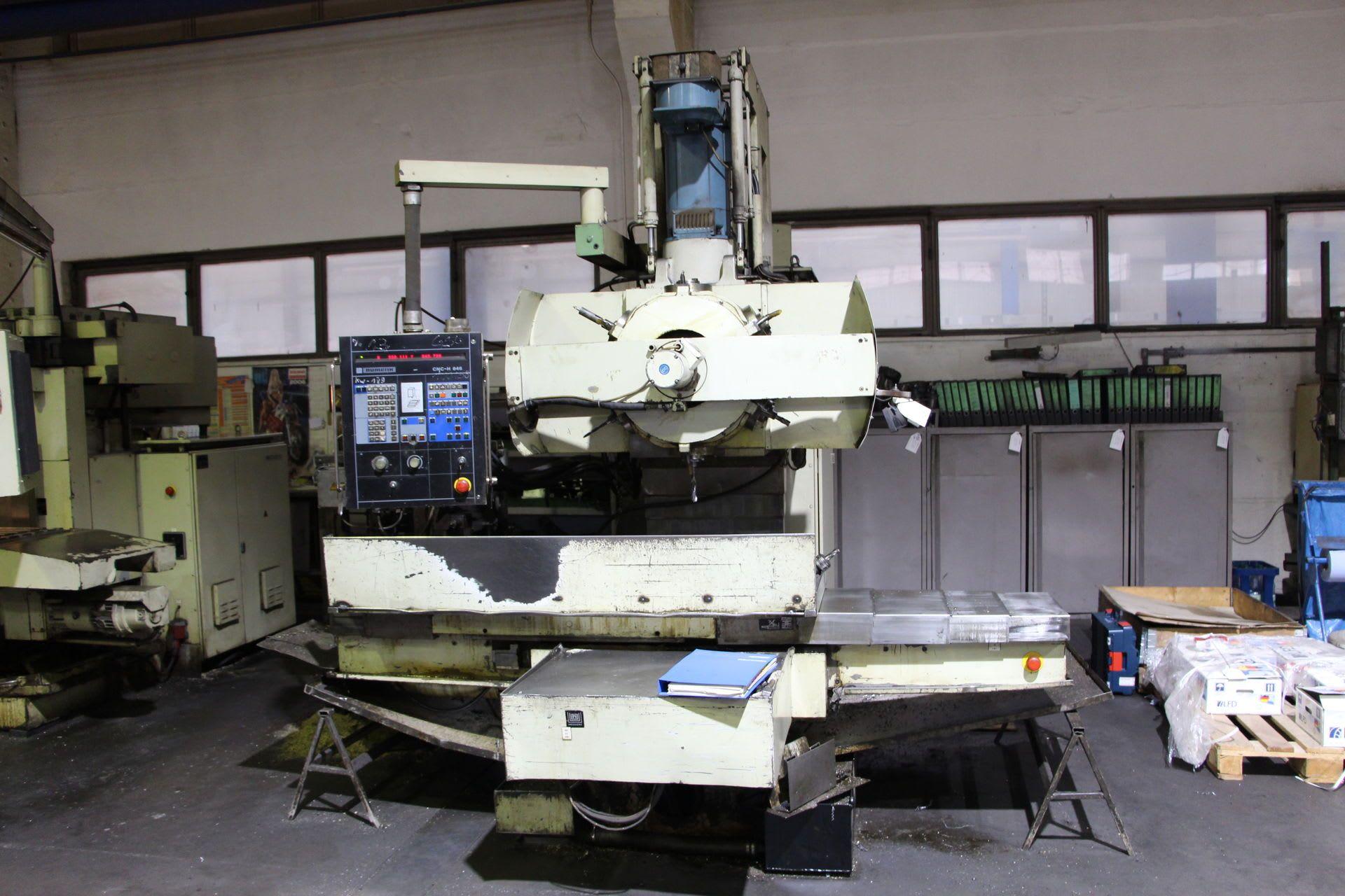 WMW FKR SRS 250 NC-Fräsmaschine