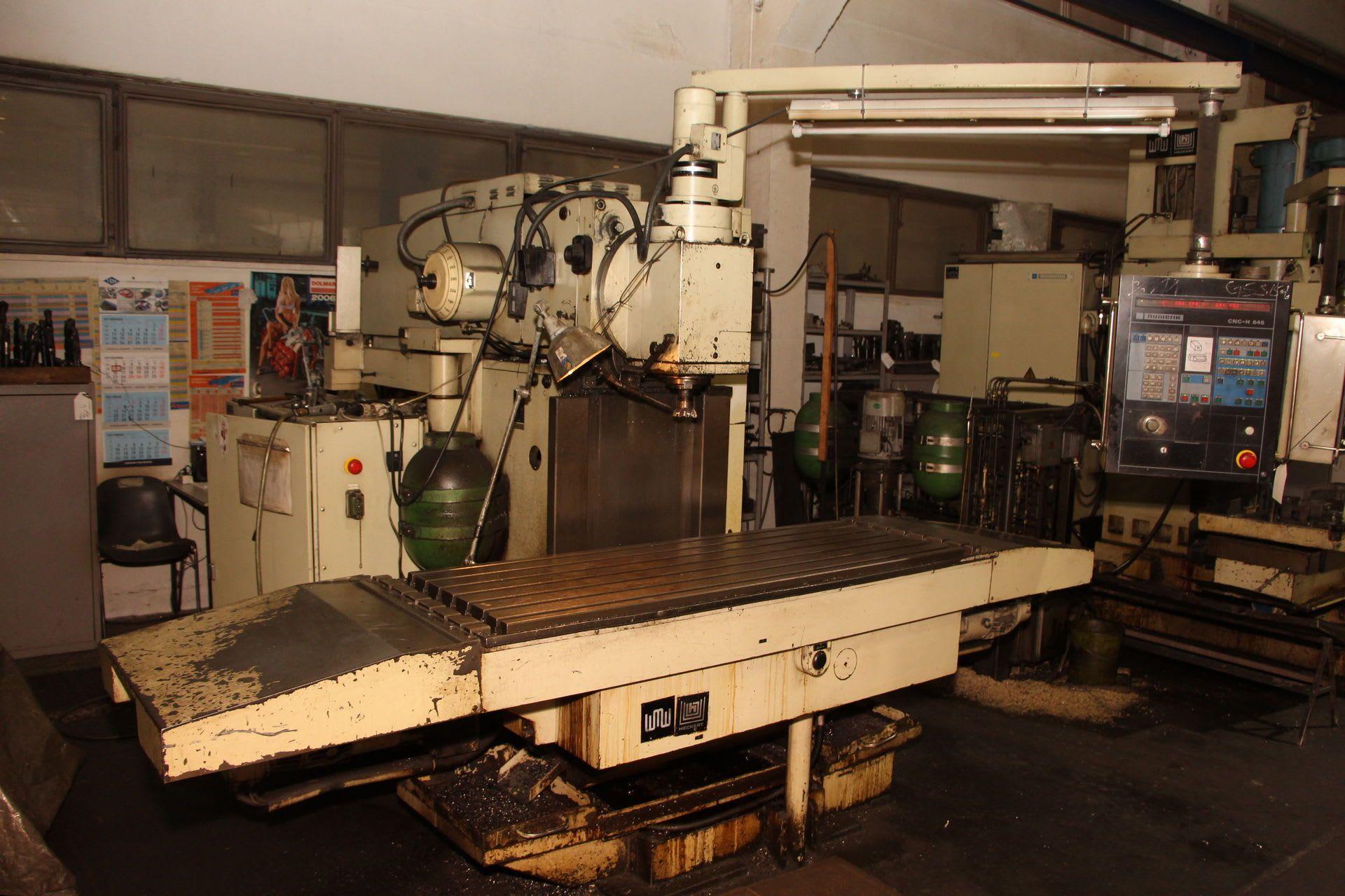 HECKERT FQW 560 NC-Fräsmaschine