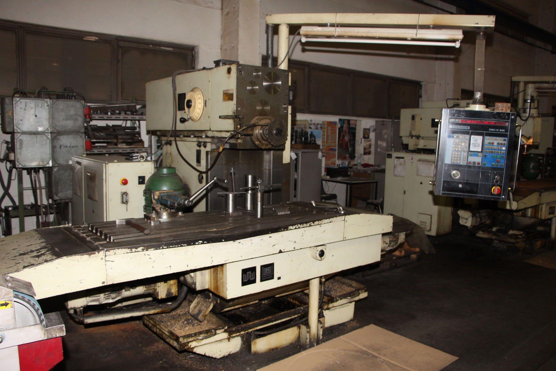 HECKERT FQW 400 NC-Fräsmaschine