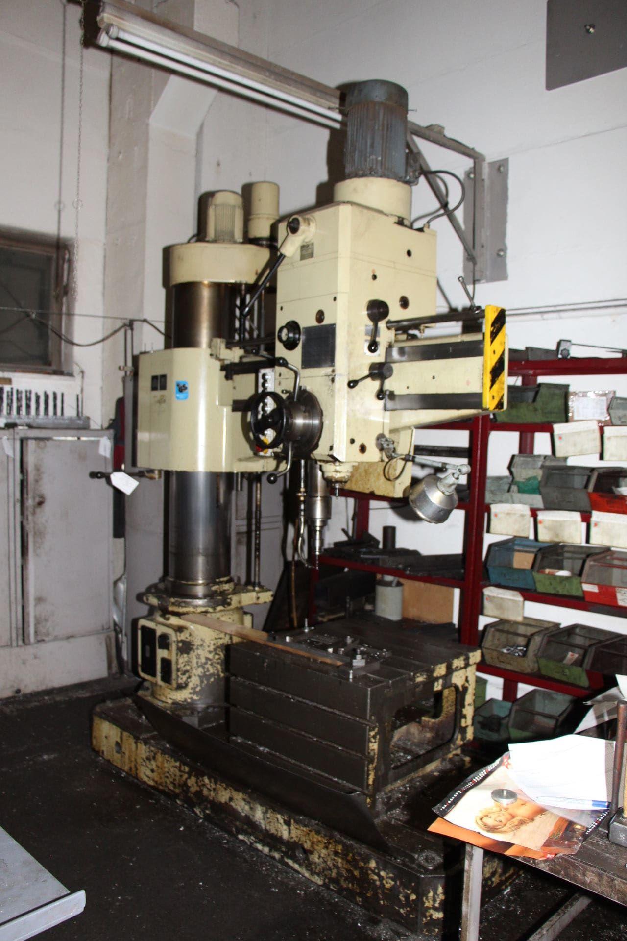 HECKERT BR 40/2 X 1250 Radialbohrmaschine