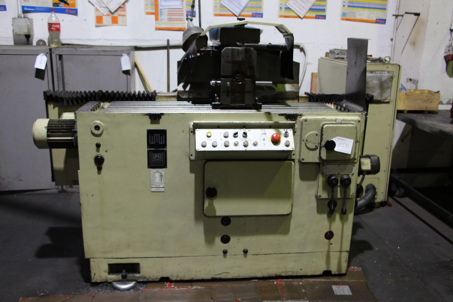 HECKERT FNW 32 X 800 Horizontal-Fräsmaschine