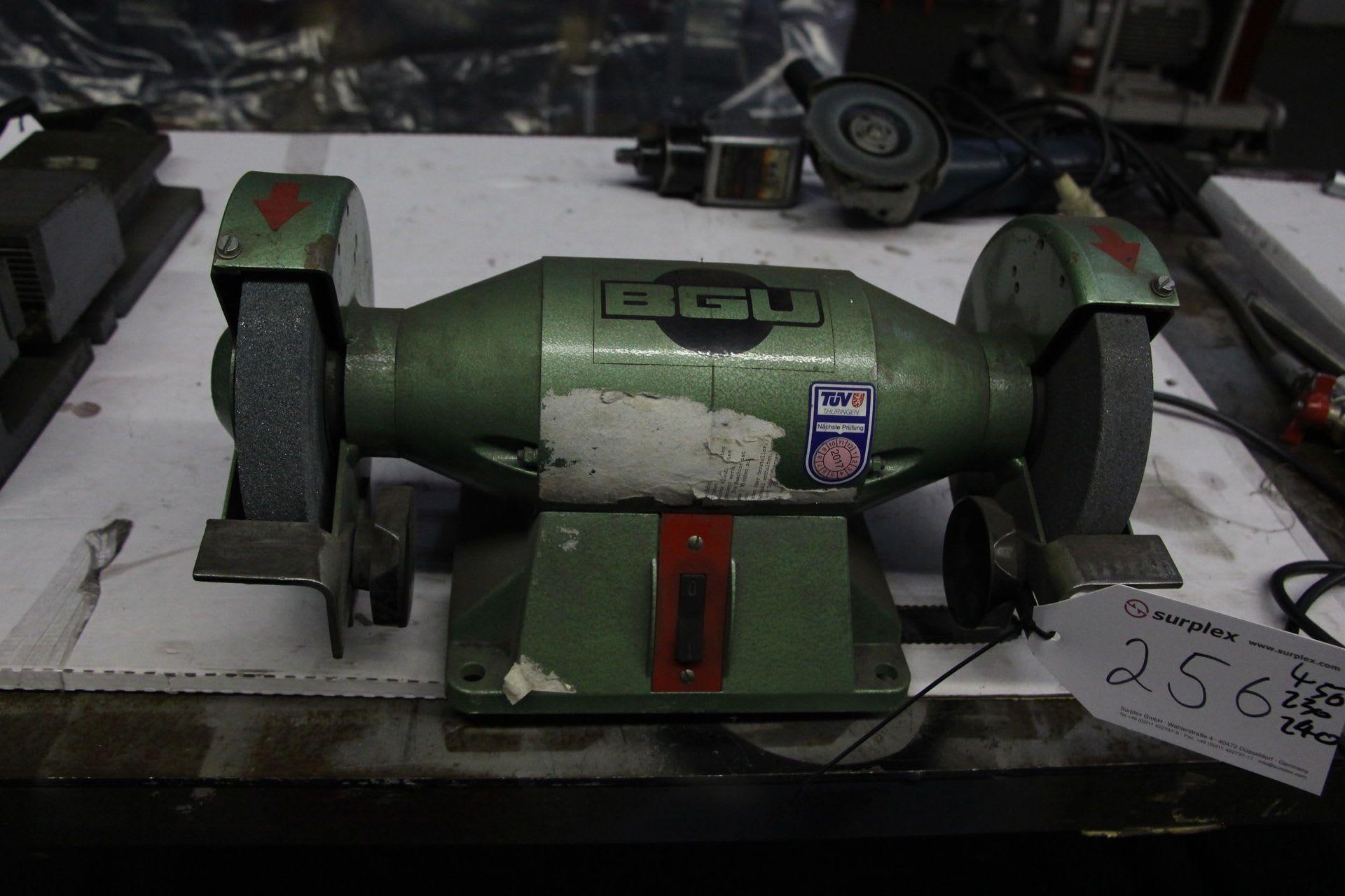 BGU ES 175/25 Doppelschleifmaschine