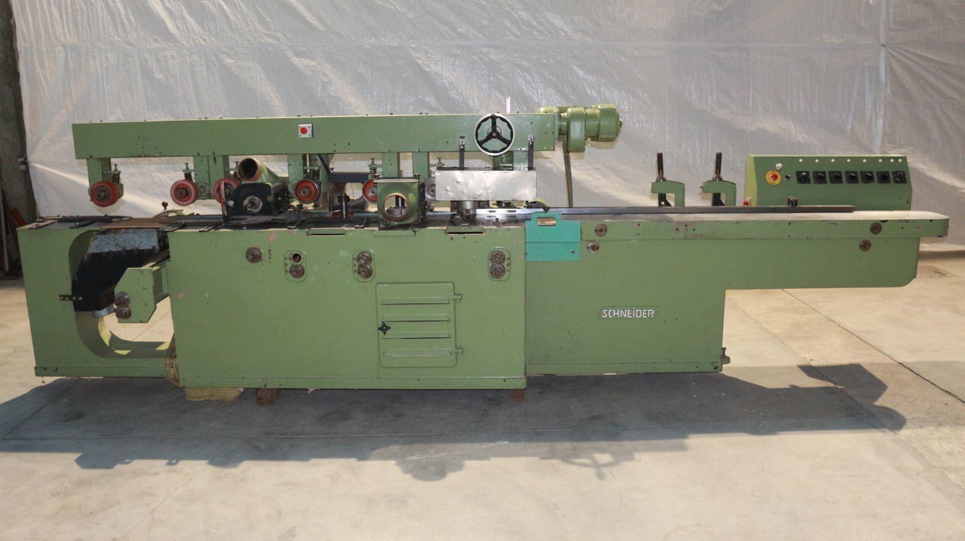 SCHNEIDER Kehlmaschine