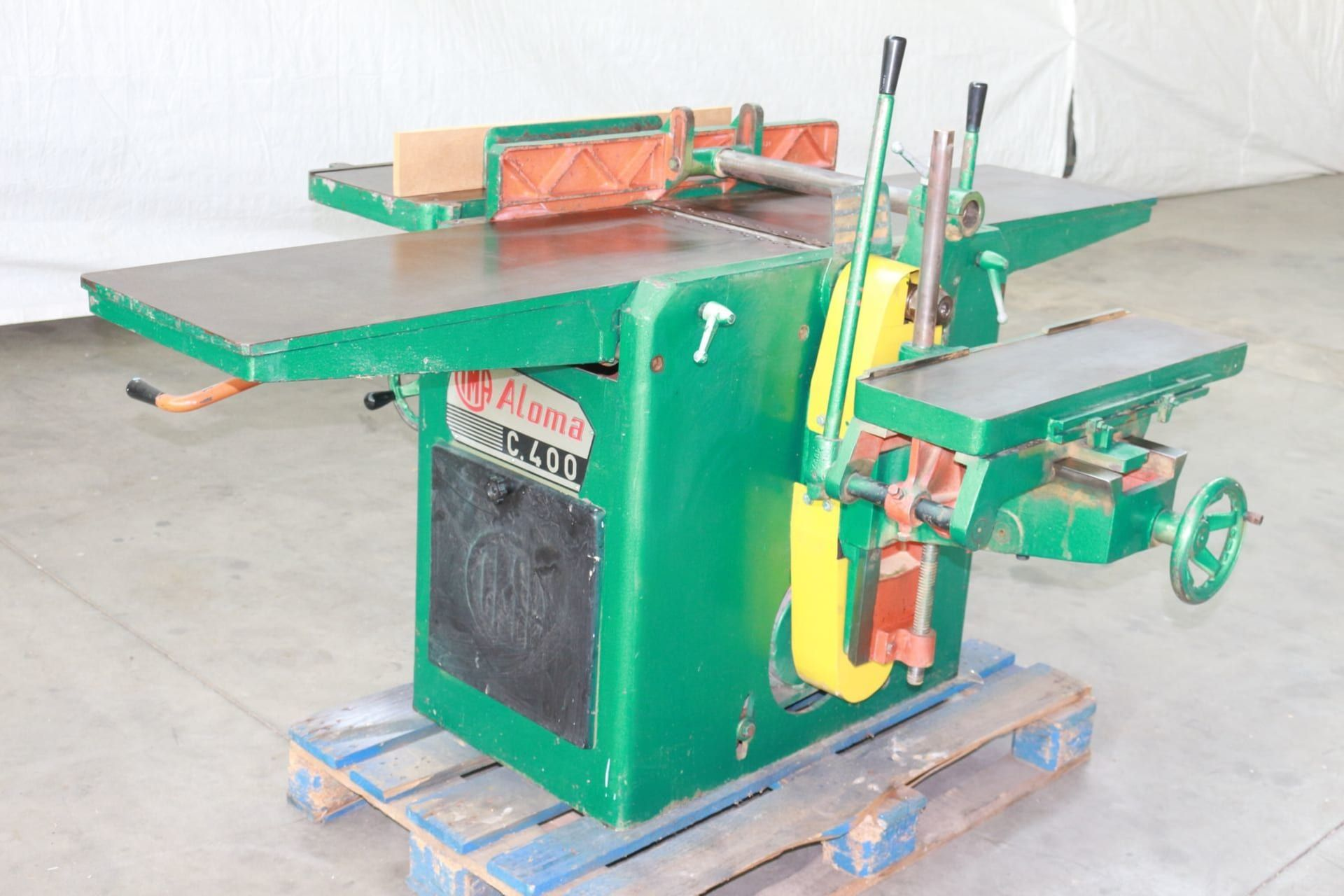 CIMA ALOMA C 400 3-fach kombinierte Maschine