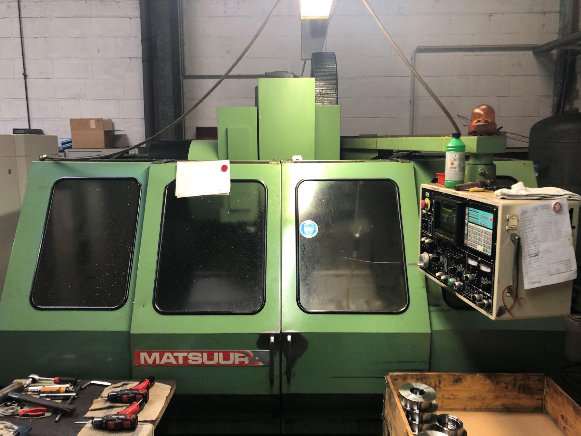 MATSUURA VM 760 VX Vertikal-Bearbeitungszentrum