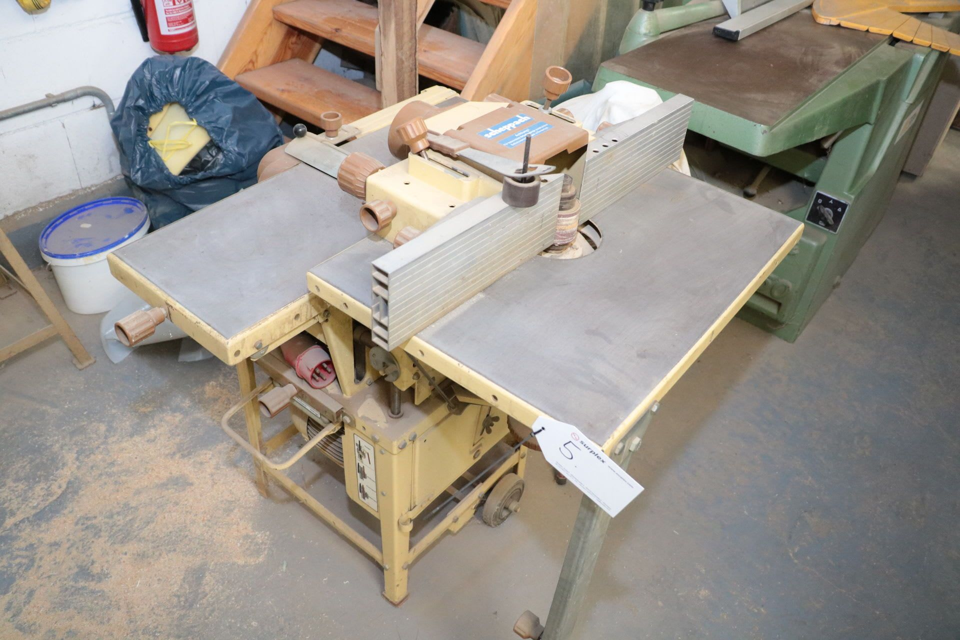 SCHEPPACH PRIMA HM2 Kombi-Fräs- und Hobelmaschine