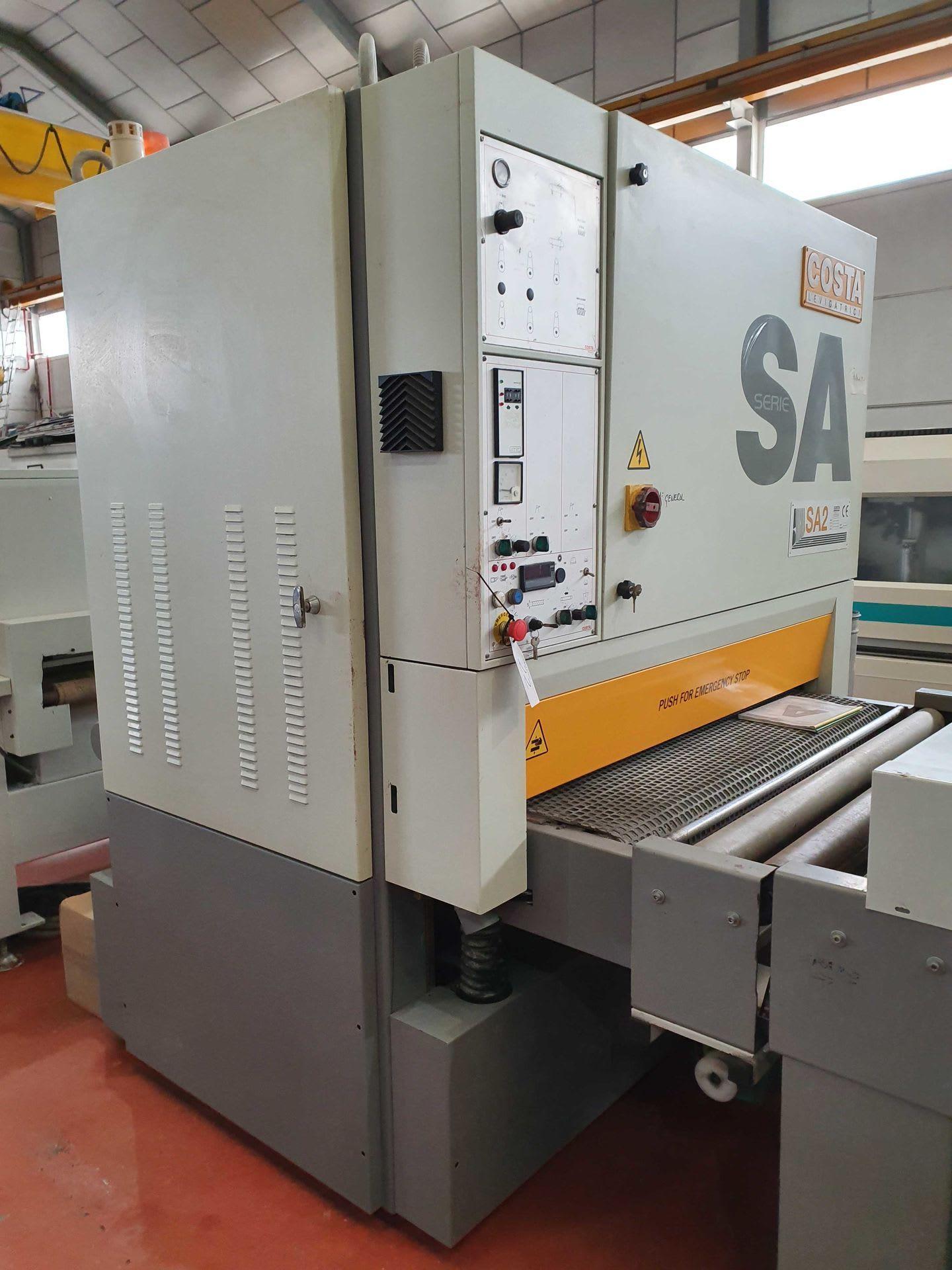 COSTA LEVIGATRICI SA2 CS 1350 Breitbandschleifmaschine