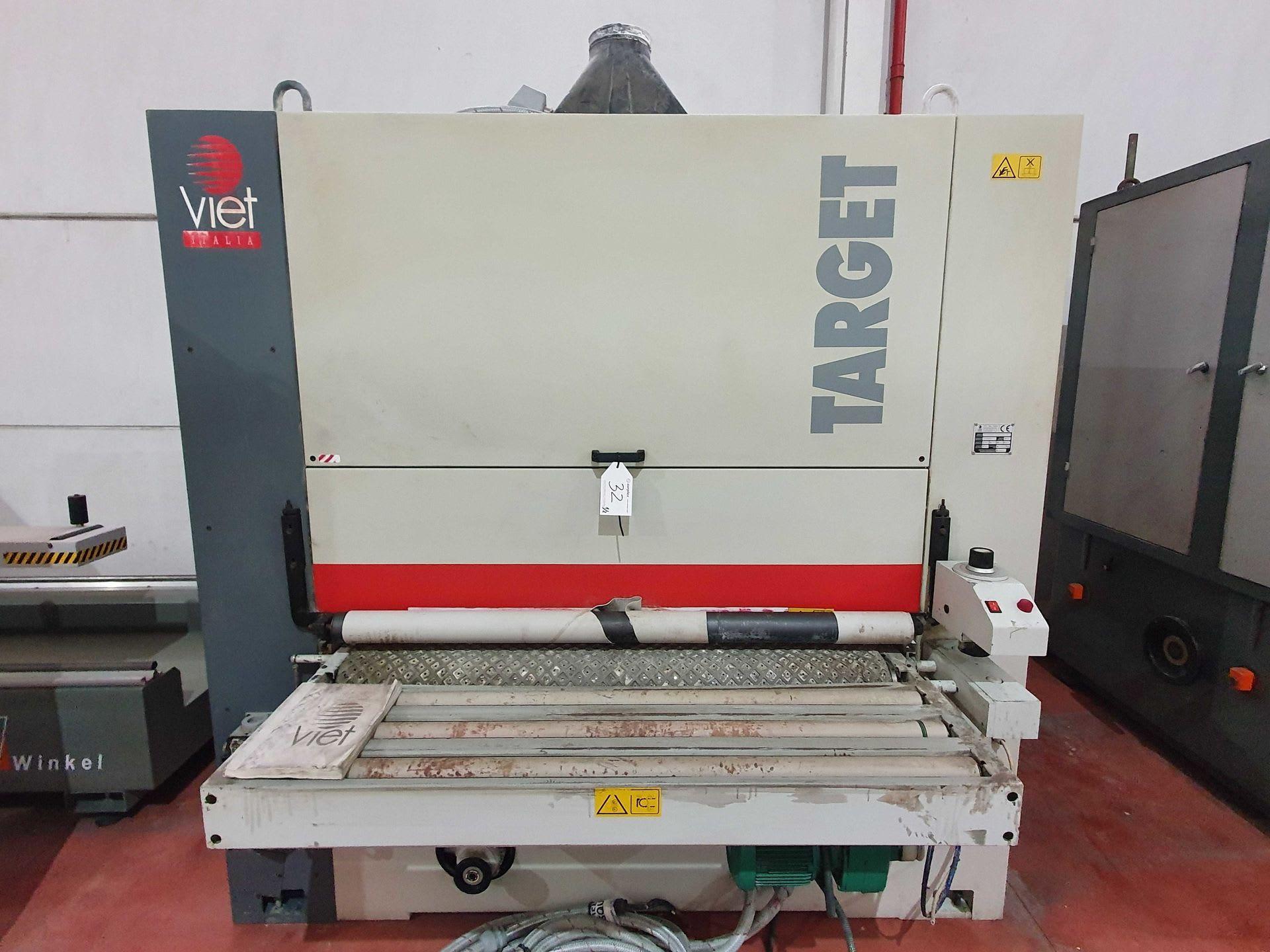 VIET TARGET 223 / EL Breitbandschleifmaschine