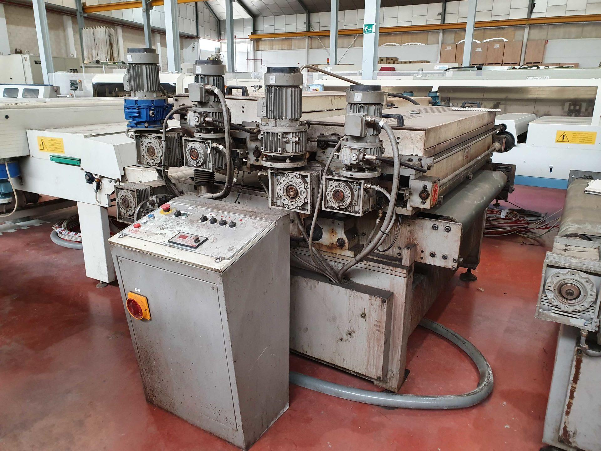 SORBINI T/20-2M Walzenstreichmaschine
