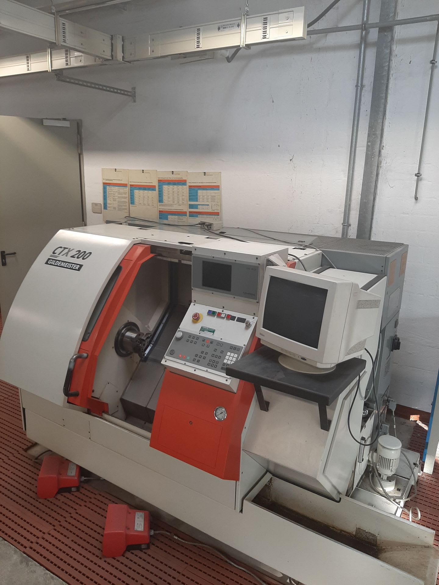 GILDEMEISTER CTX 200 CNC-Drehmaschine