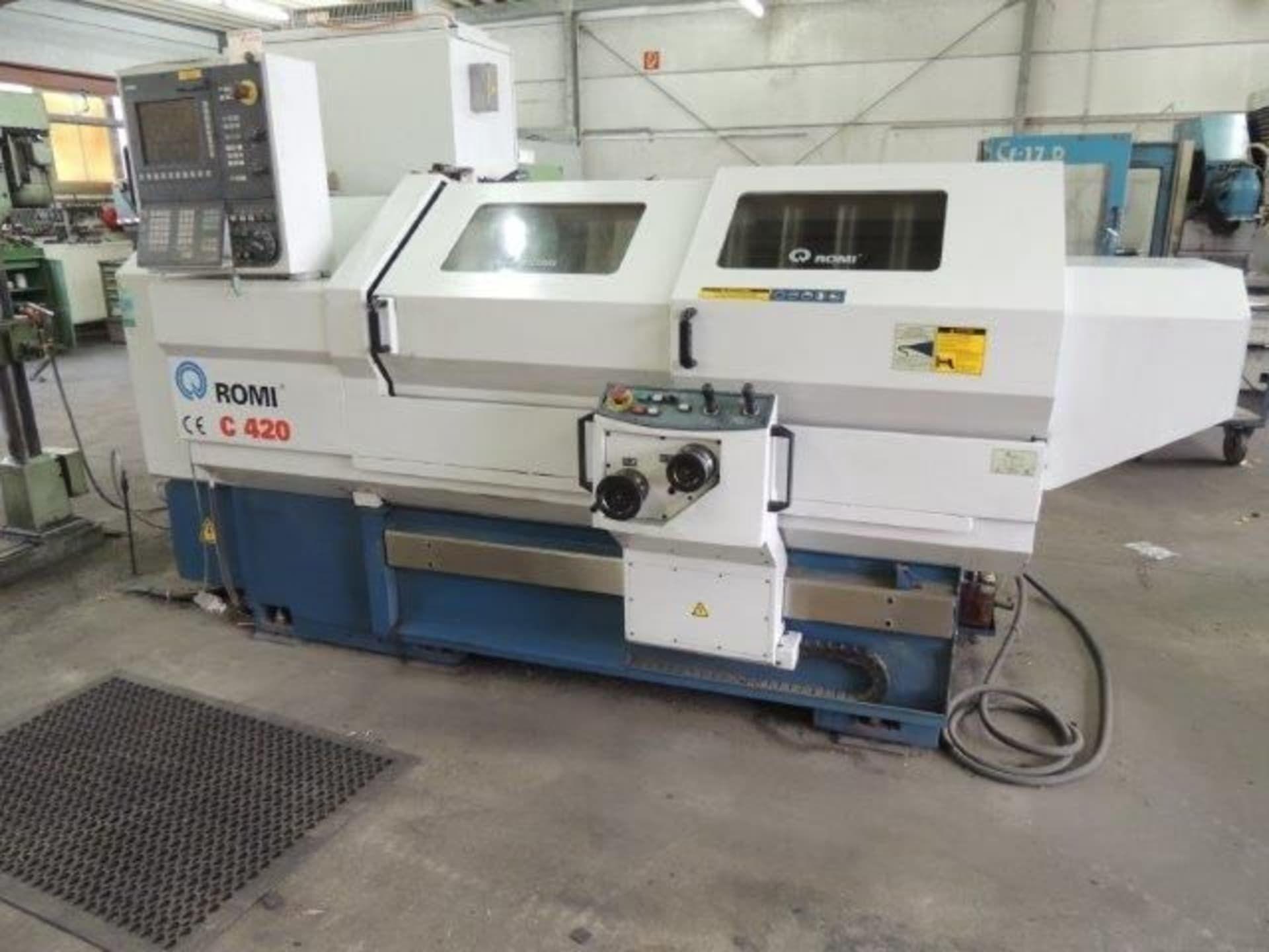 ROMI C 420 CNC Drehmaschine