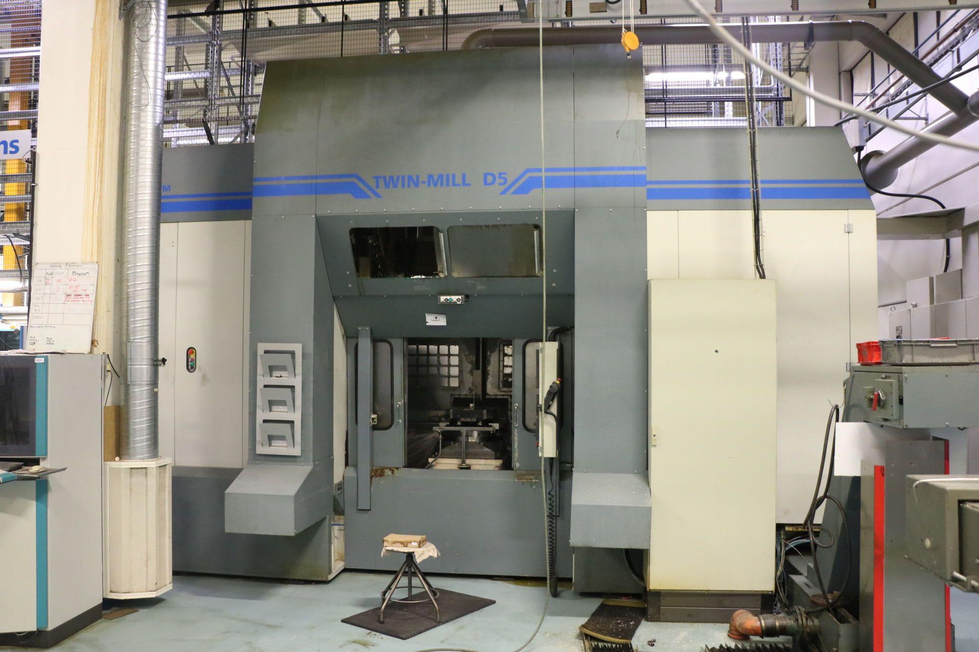 FASTEMS Twin-Mill D 5 Горизонтальный Bearbeitungszentrum