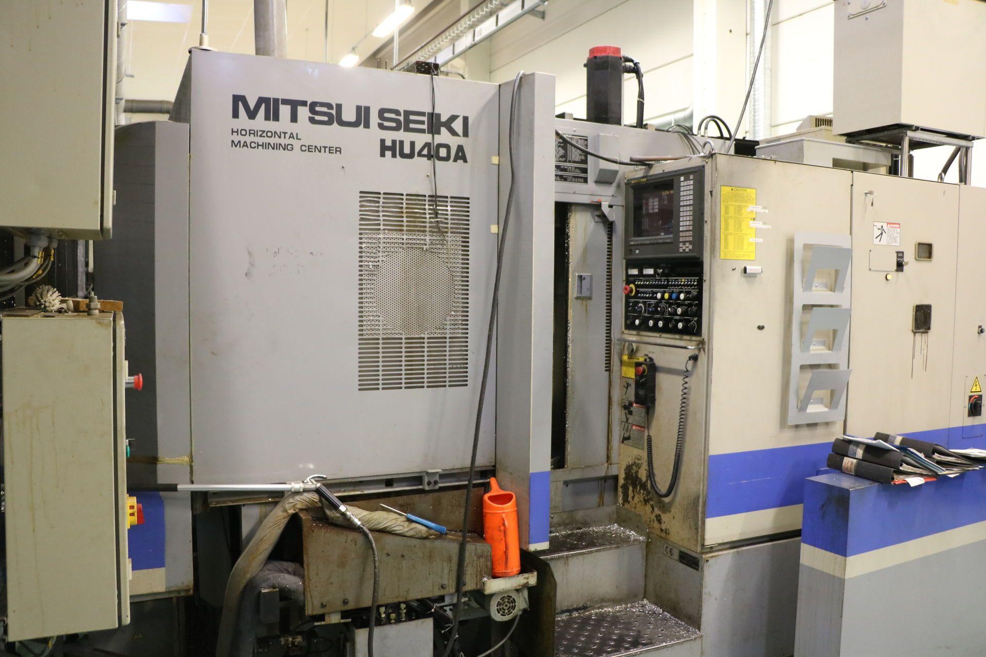MITSUI SEIKI HU 40 A Горизонтальный Bearbeitungszentrum