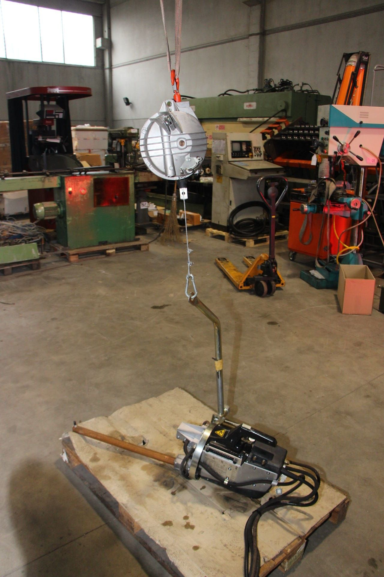 TECNA 3301 Punktschweißgerät mit Ausgleichsvorrichtung (Balancer)