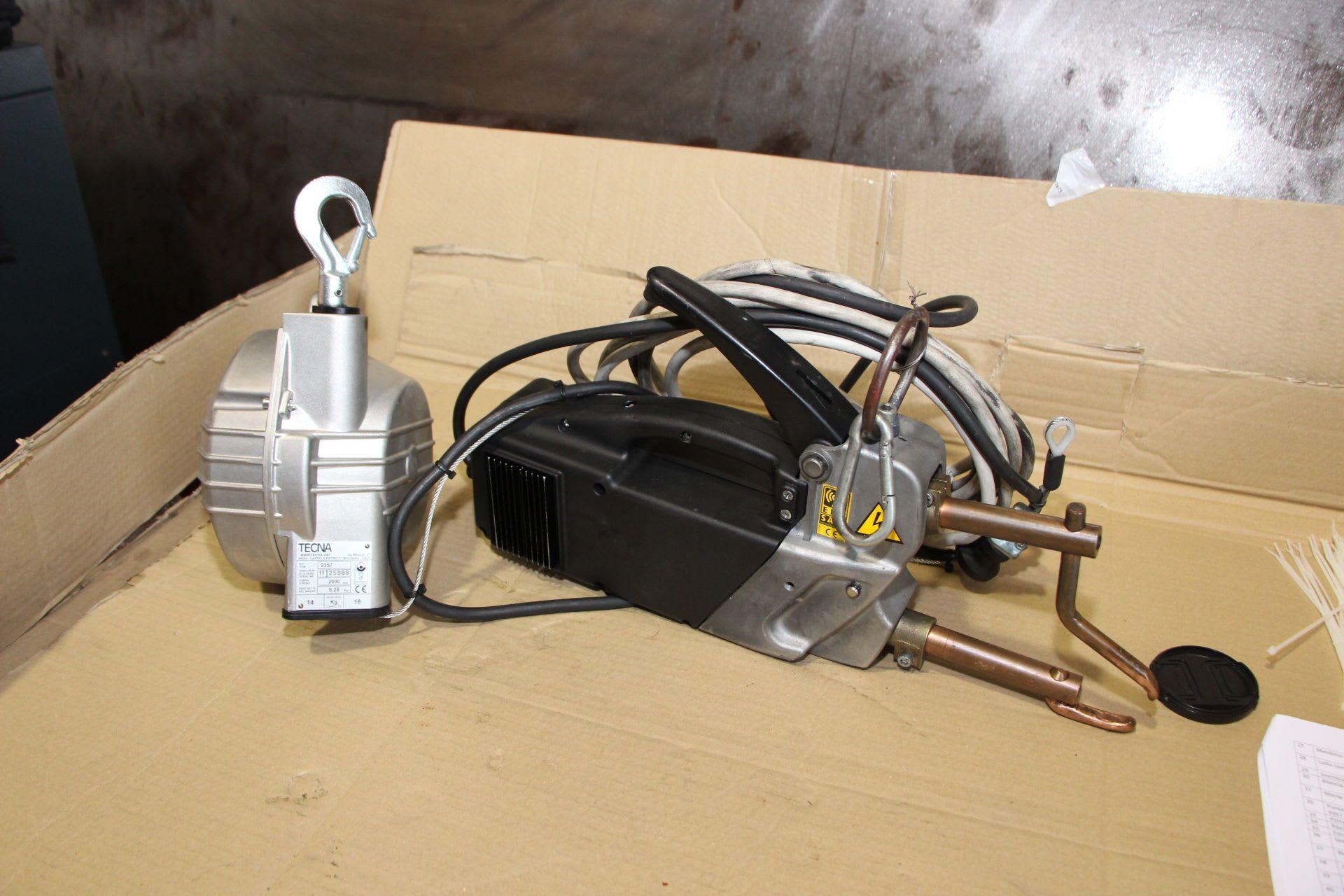 TELWIN MODULAR 20 TI 120 Tragbares Punktschweißgerät mit Ausgleichsvorrichtung (Balancer)