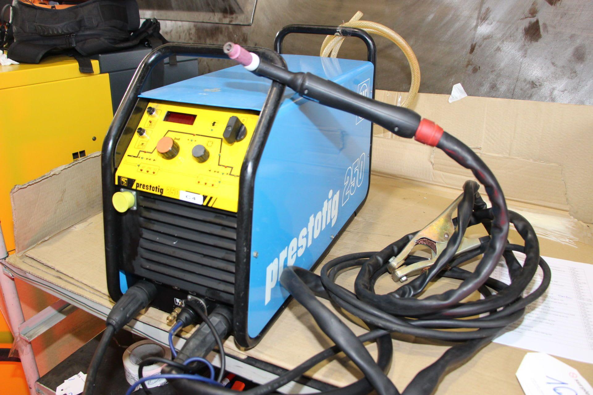 SAF PRESTOTIG 250 Tig-Schweißmaschine