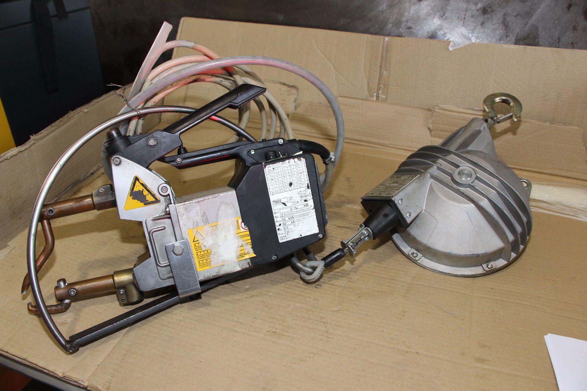TECNA 7902 120 DAN Tragbares Punktschweißgerät