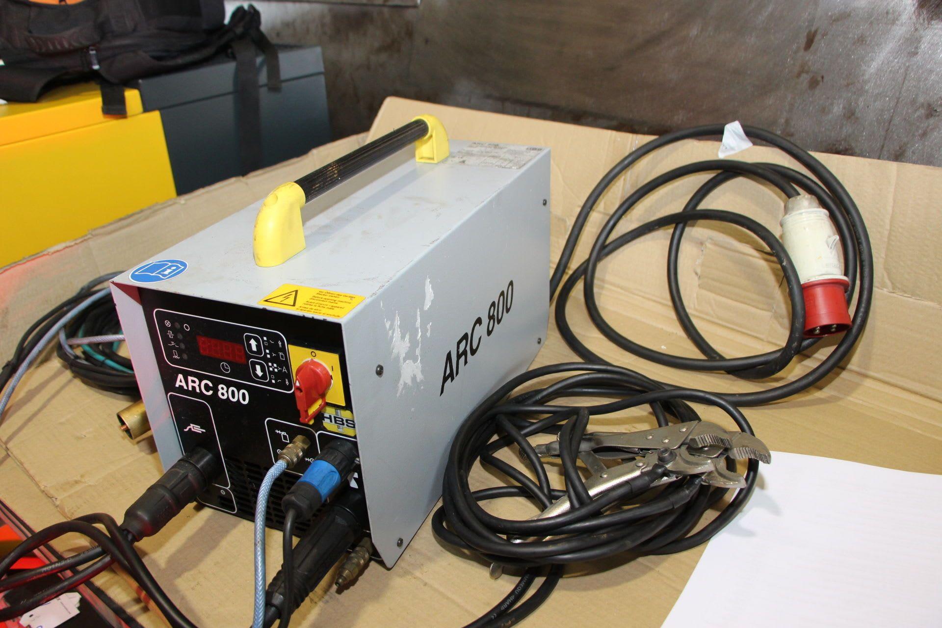 HBS ARC 800 Schweißmaschine