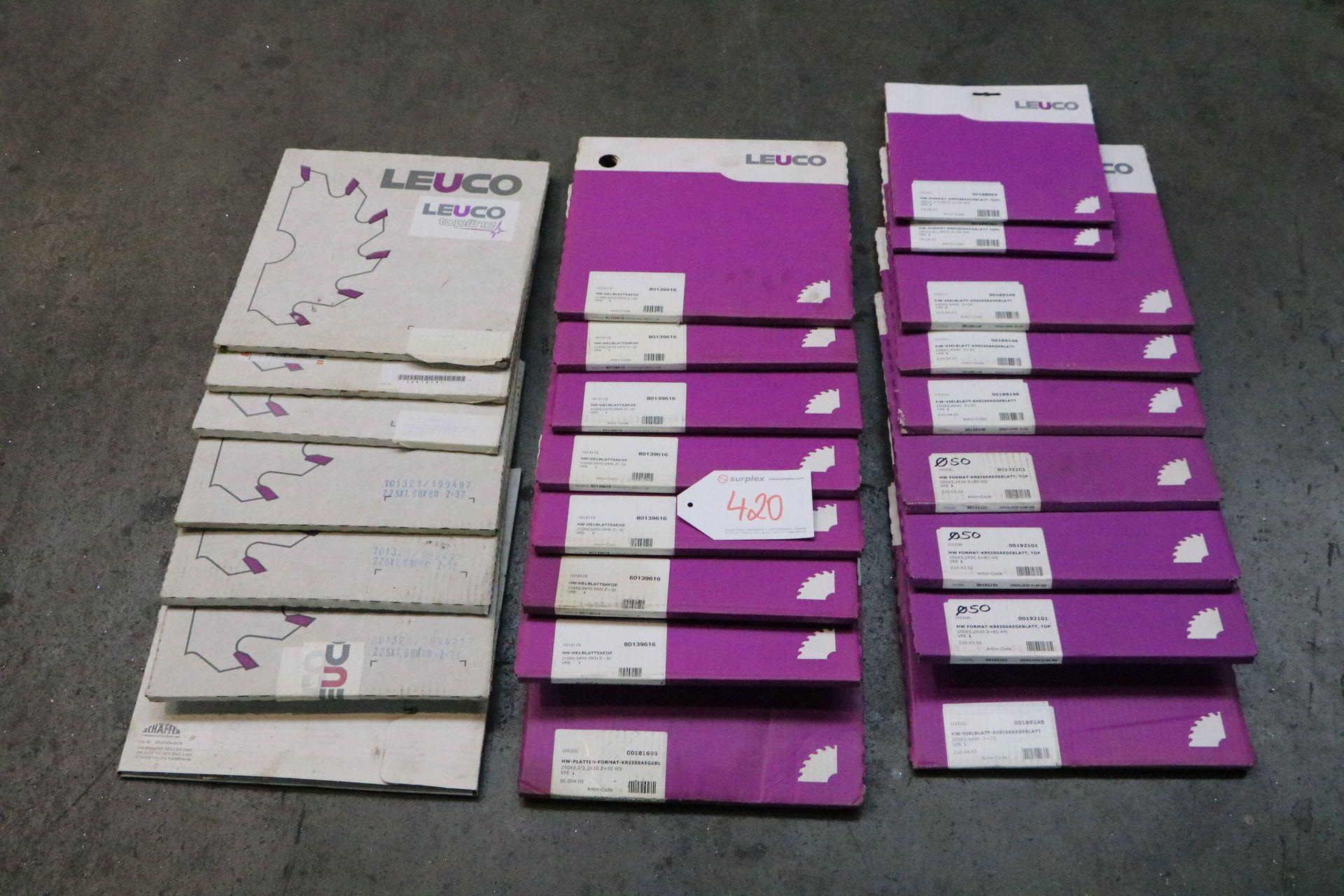 LEUCO Posten Sägeblätter