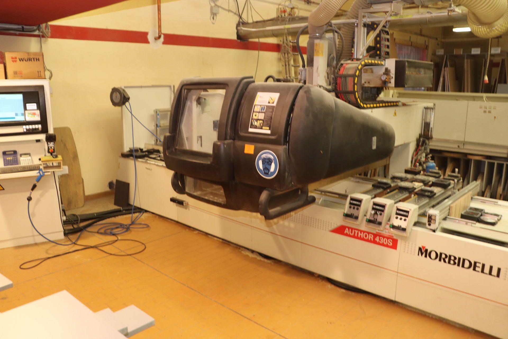 MORBIDELLI Author 430 Super CNC-Bearbeitungszentrum