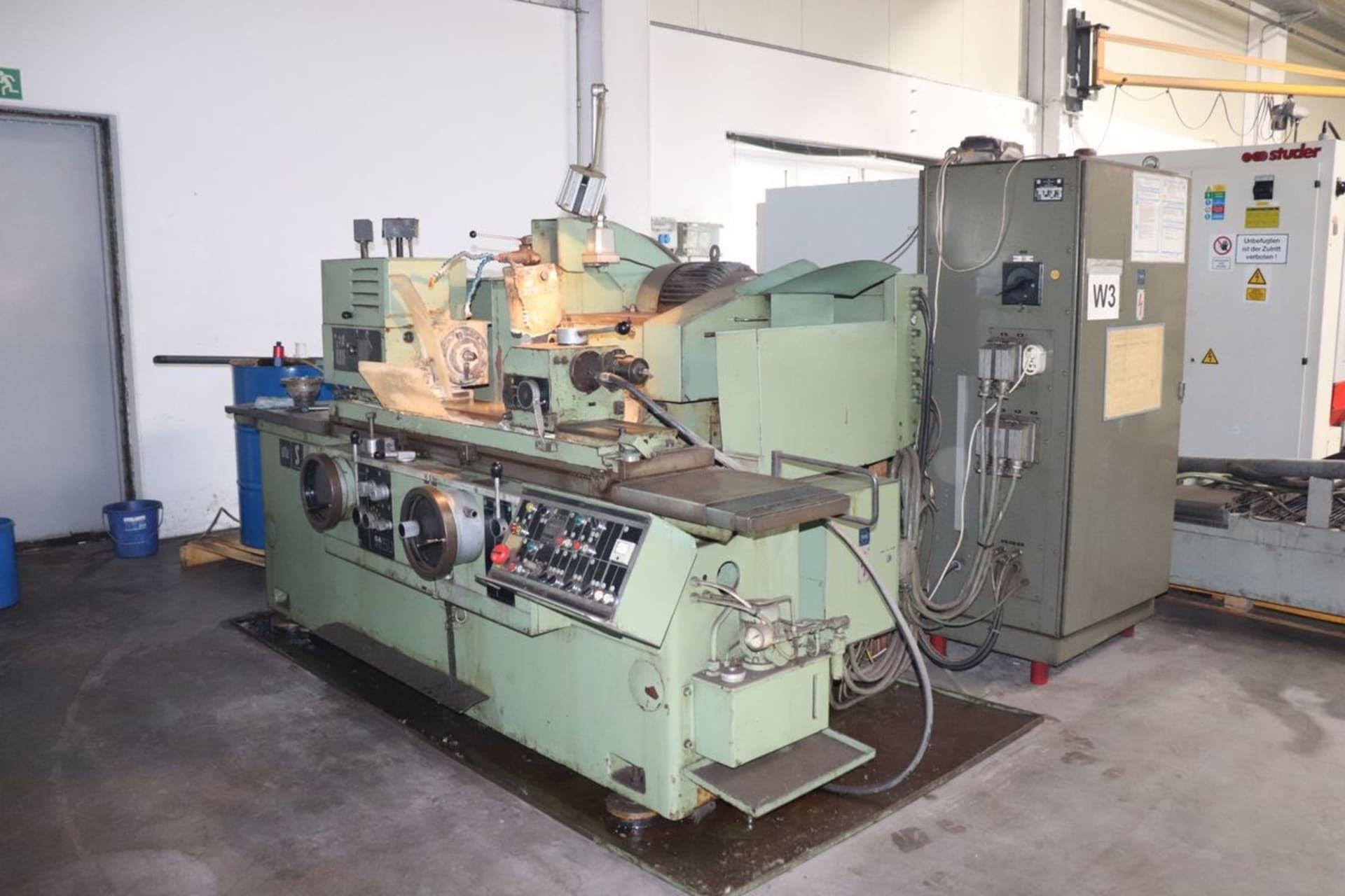 WMW SA 5 UX 630 Rundschleifmaschine